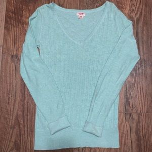 Mint long sleeve sweater